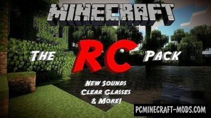 The RC HD Resource Pack For Minecraft 1.7.10, 1.7.2, 1.6.4