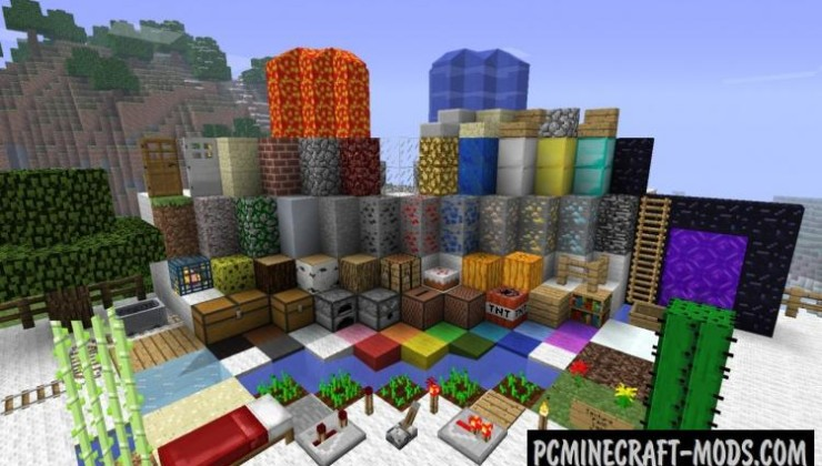 Traditional Beauty Resource Pack For Minecraft 1.8, 1.7.10, 1.6.4