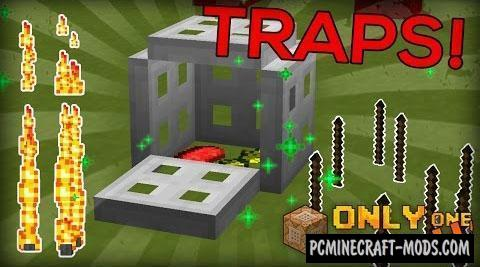 Traps Command Block by Cimap For Minecraft 1.10.2, 1.9.4