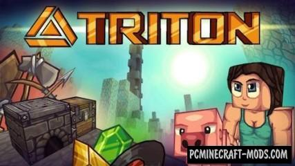 TRITON Resource Pack For Minecraft 1.8.9, 1.8, 1.7.10