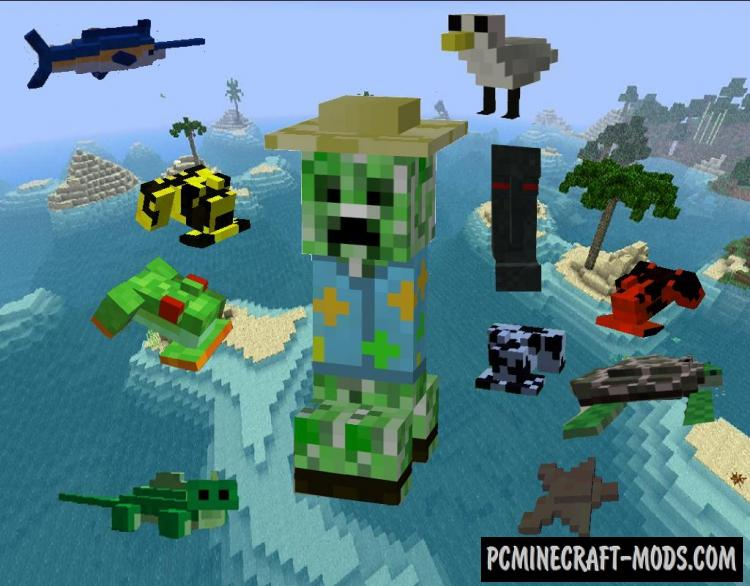 Tropicraft Mod For Minecraft 1.10.2, 1.7.10, 1.6.4