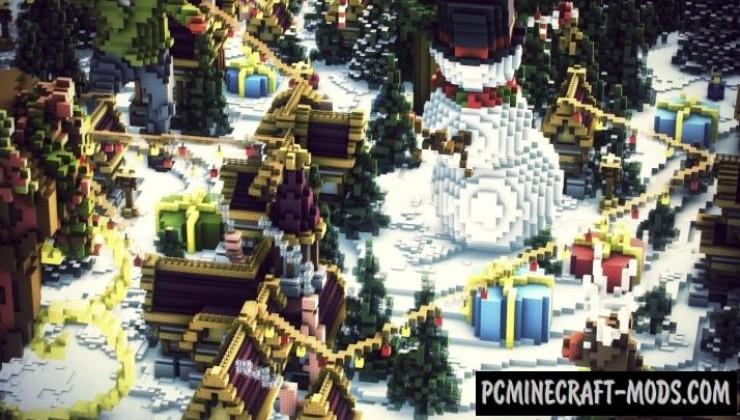 Whiteridge - Town Map For Minecraft