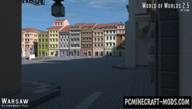 World of Worlds - City Map For Minecraft
