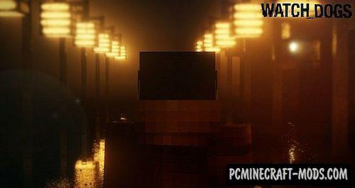 Watch Dogs Resource Pack For Minecraft 1.7.10, 1.7.2