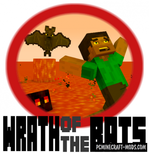 Wrath of the Bats - PvP, Arena Map For Minecraft