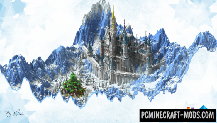 Crystal Palace - Castle Map For Minecraft