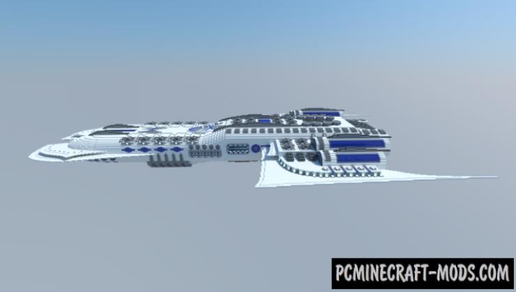 Zyraitix S47 - 3D Art, Building Map For Minecraft