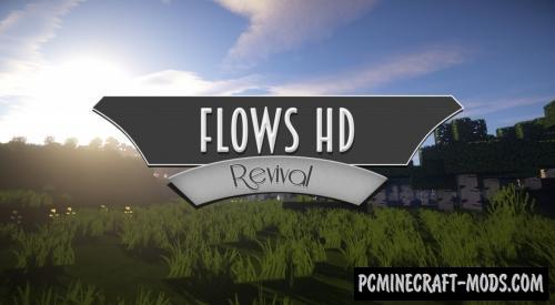 Flows HD Revival Resource Pack For Minecraft 1.8.9, 1.8