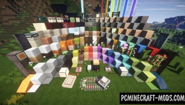 Flows HD Revival 128x Resource Pack For Minecraft 1.8.9