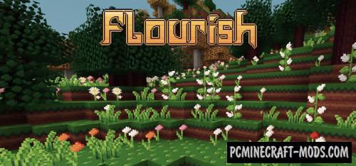 Flourish 16x Resource Pack For Minecraft 1.10.2, 1.9.4, 1.8.9