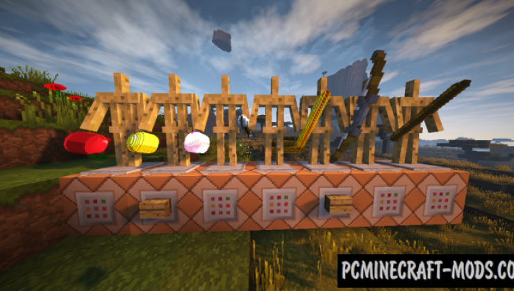 Faithful 3D Items Addon Resource Pack For MC 1.16.4, 1.16.3
