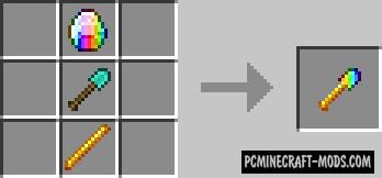 The Rainbow World - New Ore, Armor Mod For MC 1.7.10