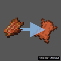 Rotten Flesh to Leather - Tweak Mod For Minecraft 1.16.5