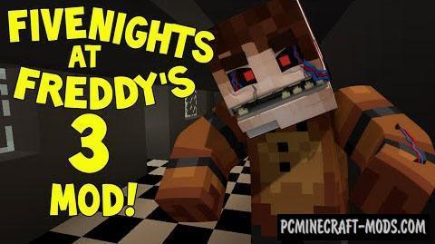 FreddyCraft - Mobs, Items Mod For Minecraft 1.7.10