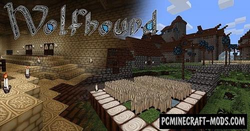 Wolfhound 64x Resource Pack For Minecraft 1.16.2, 1.15.2