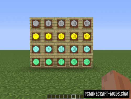 Money Mod For Minecraft 1.7.10