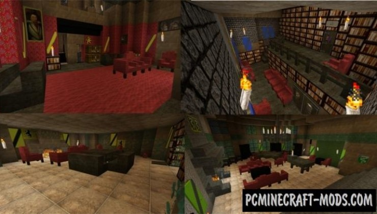 Hogwarts 512x Texture Pack For Minecraft 1.10.2, 1.9.4, 1.8.9