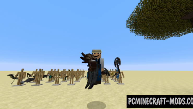 True 3D PvP - 32x Resource Pack For Minecraft 1.8.9
