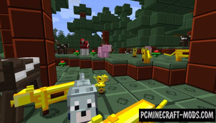 PlastiCraft 16x Resource Pack For Minecraft 1.10.2, 1.9.4