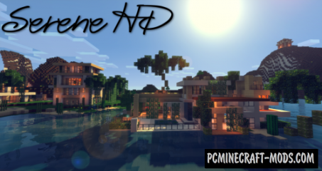 Serene HD Resource Pack For Minecraft 1.10.2, 1.10, 1.9.4