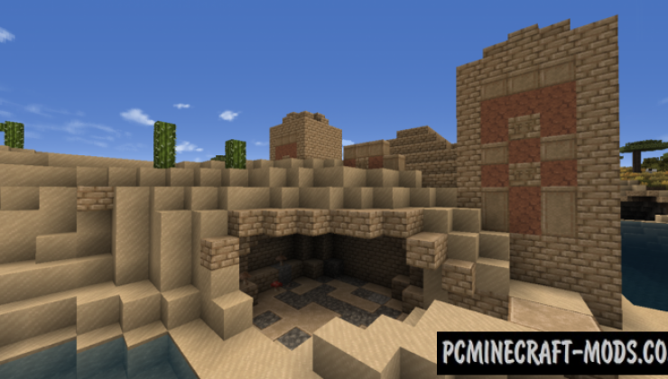 Excalibur 3D 16x Resource Pack For Minecraft 1.15.1, 1.14.4