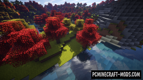 Autumn Overlay Resource Pack For Minecraft 1.10.2, 1.10