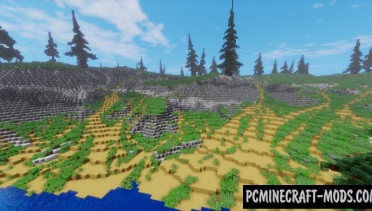 Mystic Island - Custom Terrain Map For Minecraft