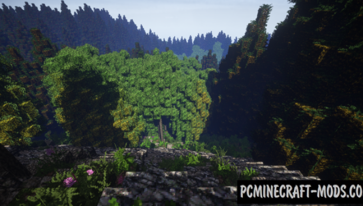 The Black Forest - Terrain Map For Minecraft