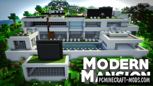 The Most Expensive House Map For Minecraft PC Java - Minecraft coole hauser maps