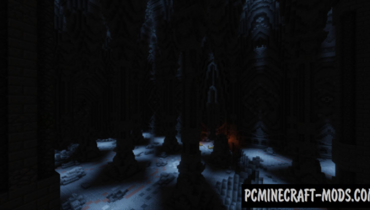 the mines of moria map for minecraft