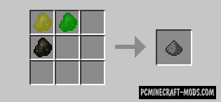 Craftable Gunpowder - Ore Mod For Minecraft 1.7.10