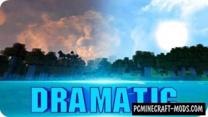 Dramatic Skys Resource Pack For Minecraft 1.8.9, 1.8