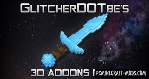 Glitch's 3D Addons Texture Pack For Minecraft 1.10.2, 1.9.4