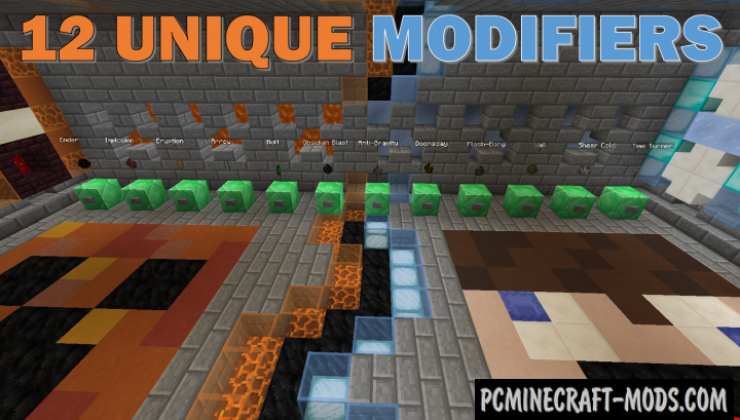Modified TNT Wars: Fire v Ice Map For Minecraft