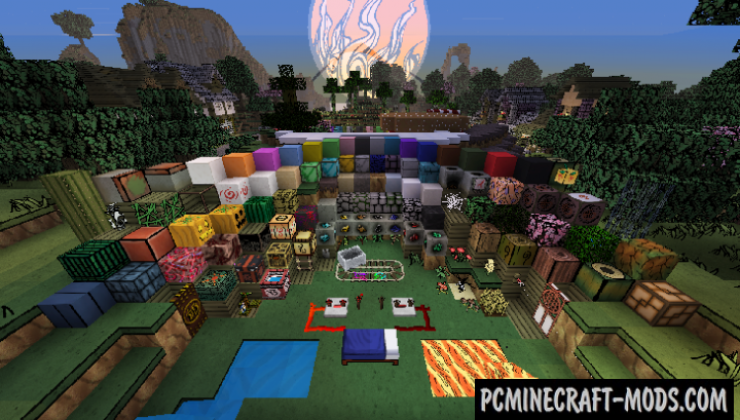 Okami 128x Resource Pack For Minecraft 1.15.2, 1.15.1, 1.14.4