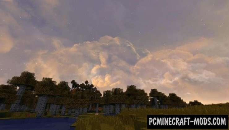 Dramatic Skys HD 128-512x Texture Pack For MC 1.17.1, 1.16.5