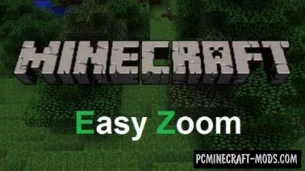 Easy Zoom Mod For Minecraft 1.8