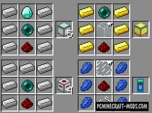 Dynamic Transport - Mechanism Blocks Mod For MC 1.15.2
