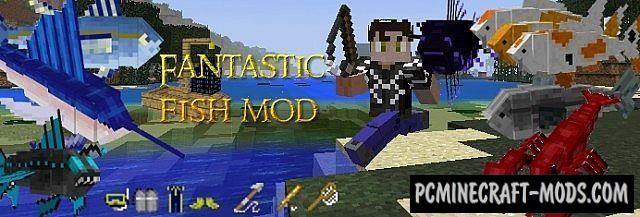 Fantastic Fish Mod For Minecraft 1.7.10, 1.7.2
