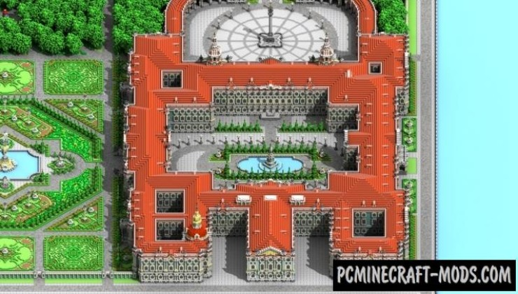Winter Palace - Castle Map For Minecraft