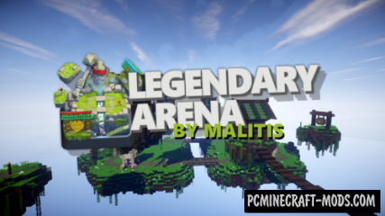 Clash Royale: Legendary Arena Map For Minecraft