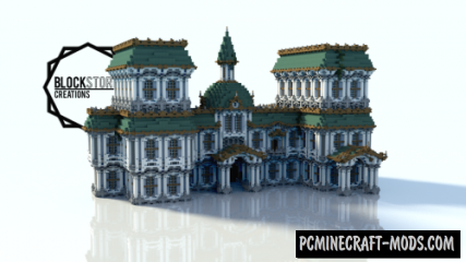 Baroque-Building Map For Minecraft