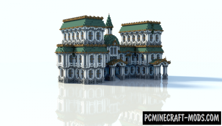 Baroque Building - House Map For Minecraft