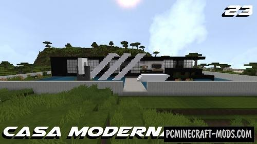 Modern House 23 Map For Minecraft