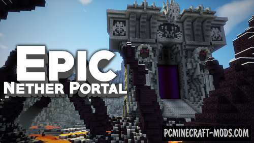 The Dark Portal - Building Map For Minecraft