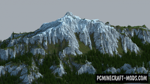 The Mountain and The Village Map For Minecraft 1 15, 1 14 4