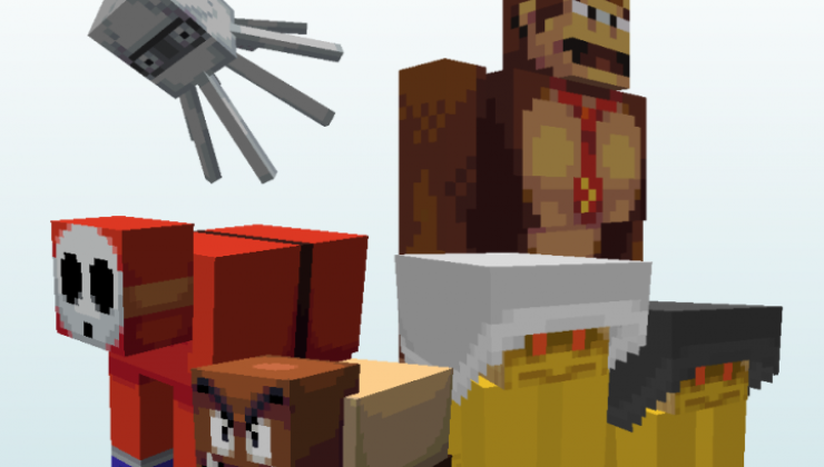 Super Mario Bros 16x Texture Pack Minecraft 1.16.4, 1.16.3, 1.15