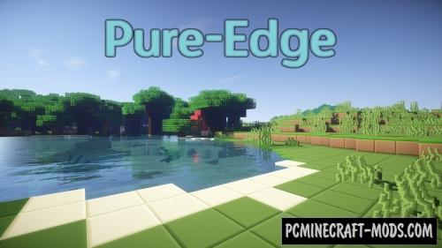 Zorocks Pure-Edge Resource Pack For Minecraft 1.10.2, 1.9.4, 1.8.9, 1.8