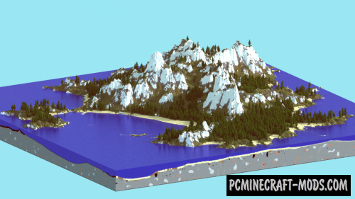 Deserted Island Map For Minecraft 1 15, 1 14 4 | PC Java Mods
