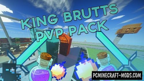 King Bruts PVP Resource Pack For Minecraft 1.8.9, 1.8